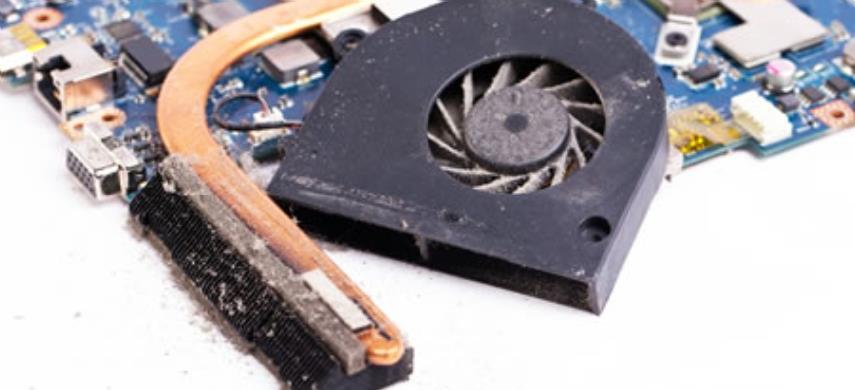 Laptop koeler reparatie
